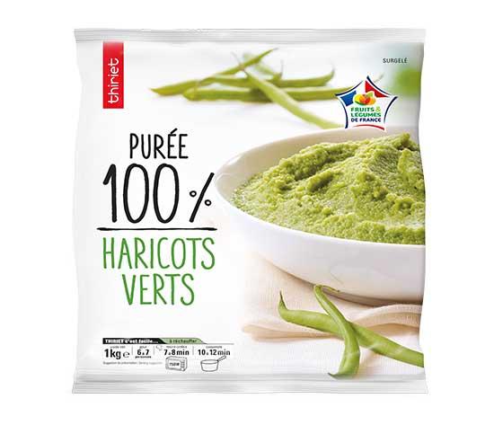 Purée de haricots verts