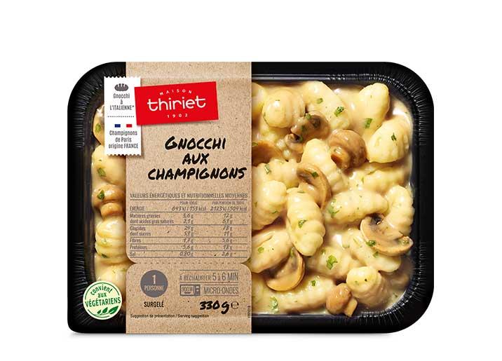 Gnocchi aux champignons