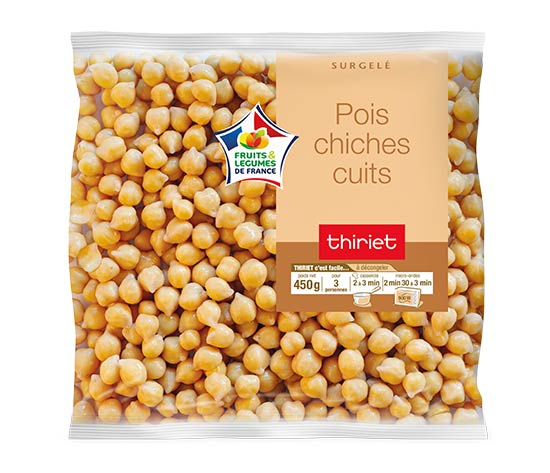Pois chiches cuits