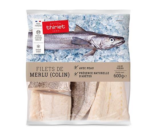 Filets de merlu (colin)