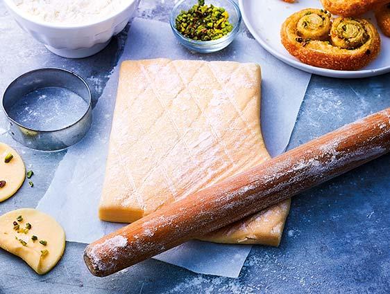 Pains Viennoiseries - 2 Pâtes feuilletées pur beurre