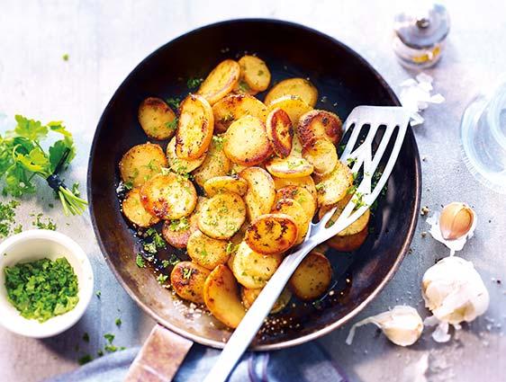 Légumes cuisinés - Poêlée cuisinée à la sarladaise