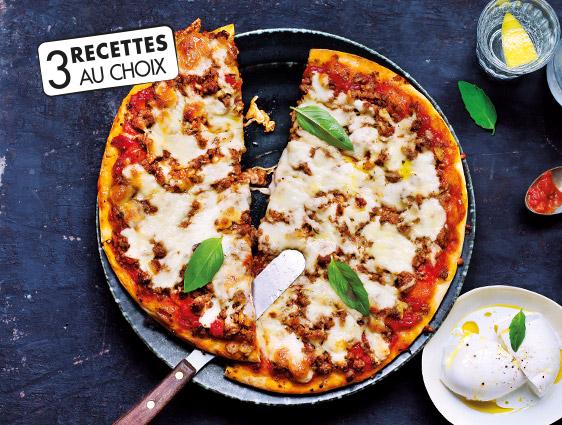 Pizzas surgelées Thiriet en promotion - Les deux Pizzas au choix ! La deuxième à -50%