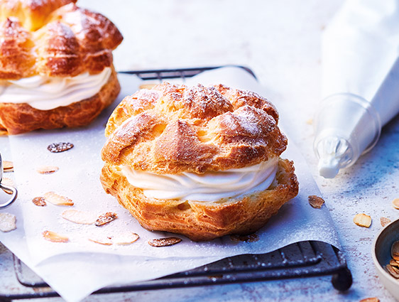 Pâtisseries Thiriet en promotion - Deux lots de deux choux à la crème à -20%