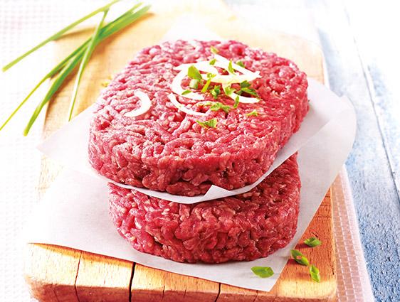 Viande Thiriet en promotion - Deux lots de huit steaks hachés Salers à -15%