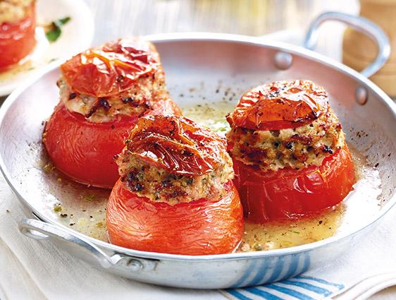 Les gratins - Tomates farcies
