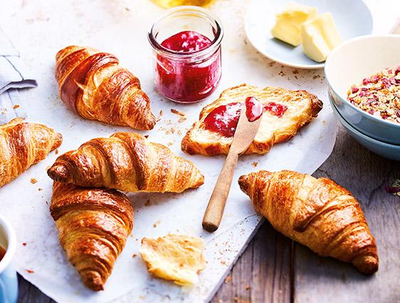 Viennoiseries Thiriet - Six Croissants pur beurre biologiques