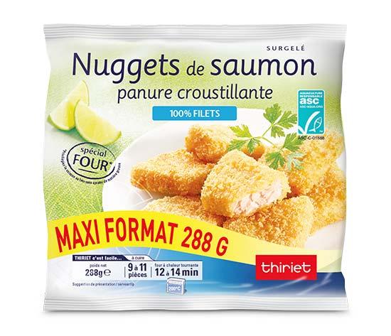 Nuggets de saumon - Maxi format - 288 g