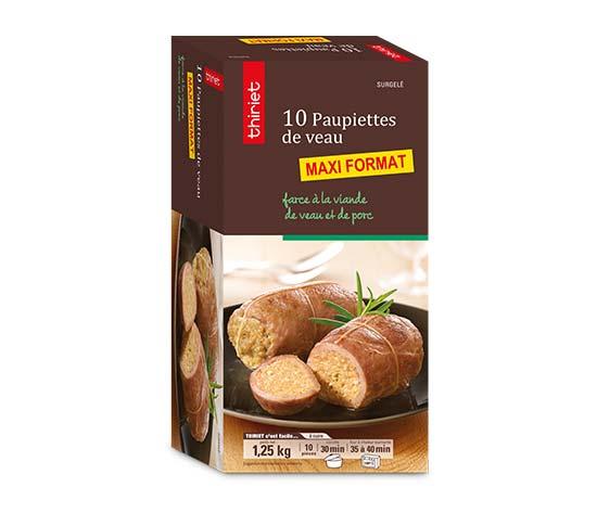 10 Paupiettes de veau - Maxi format - par 10
