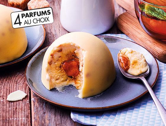 Desserts glacés - Exquis façon crème brûlée