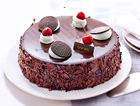 Desserts pâtissiers - Forêt noire