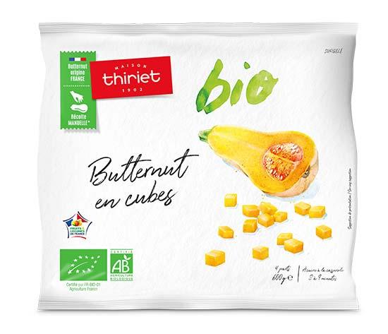 Butternut en cubes biologique