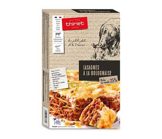 Lasagnes bolognaise : la 2ème à -50%