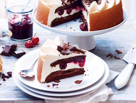 Dessert pâtissier en promotion - Forêt noire