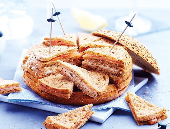 Miches apéritives en promotion - Miche surprise pain spécial aux céréales