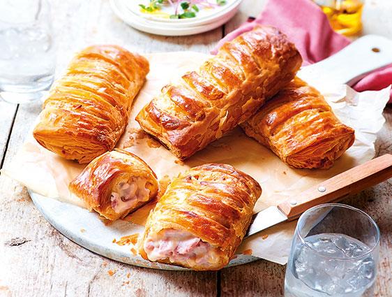 Feuilletées et paniers - Roulés jambon fromage en promotion