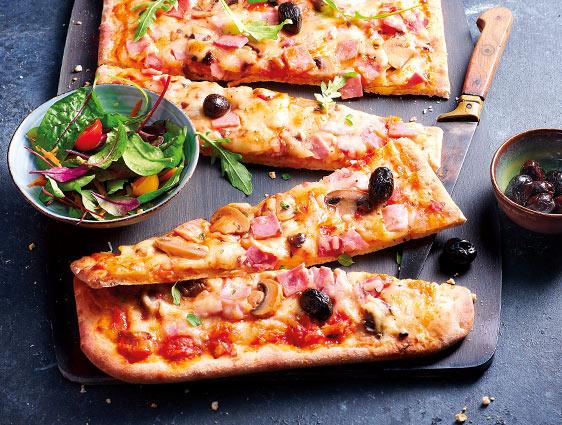 Pizzas - 3 recettes au choix en promotion