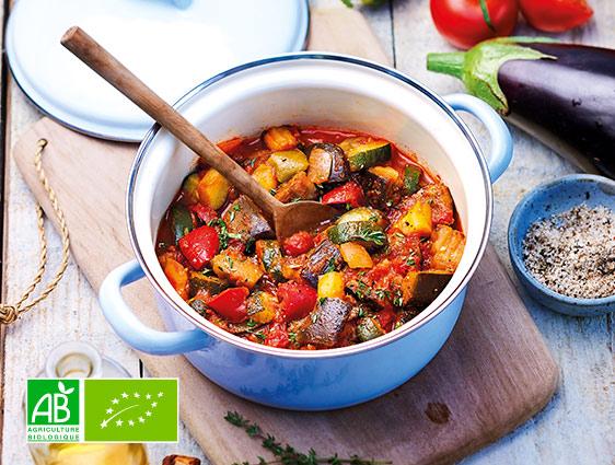 Légumes cuisinés Thiriet - Ratatouille biologique