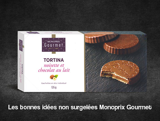 Epicerie sucrée - Tortina noisette et chocolat au lait
