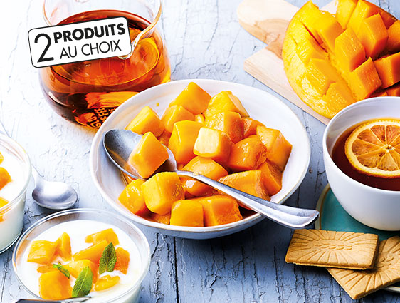 Fruits - Lot de 2 sachets de fruits au choix
