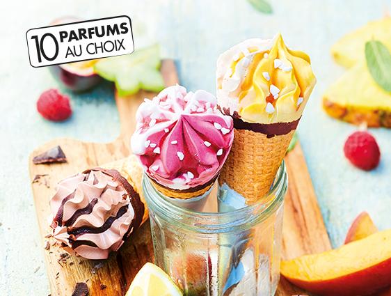 Desserts glacés en promotion - Cornets Classico