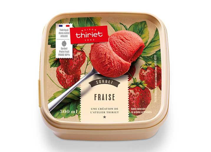 Sorbet Plein Fruit Fraise