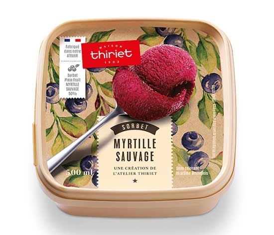 Sorbet Plein Fruit Myrtille sauvage