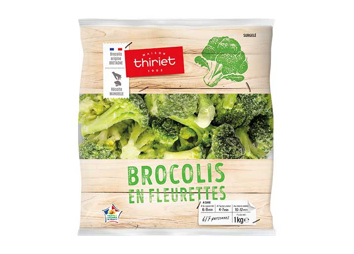 Brocolis en fleurettes