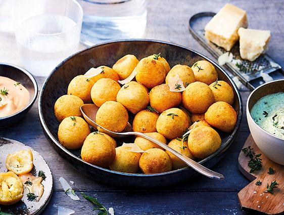 Frites et pommes de terre - Pommes Dauphine