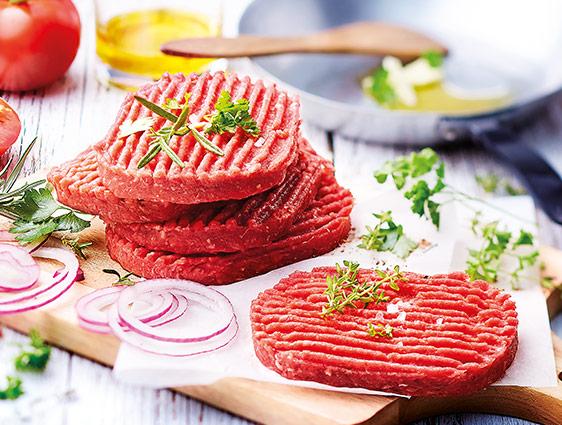Viande bovine - Steaks hachés pur bœuf