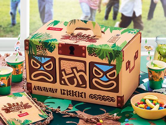 Box goûter pour les enfants - La boîte aventure™