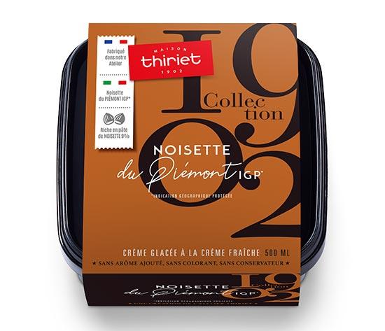 Crème glacée Noisette du Piémont IGP* Collection 1902