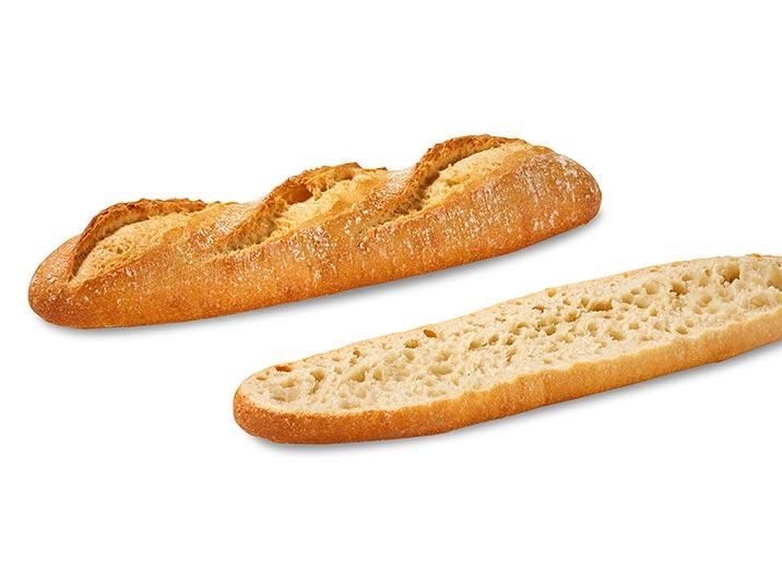 2 Demi-baguettes blanches classiques
