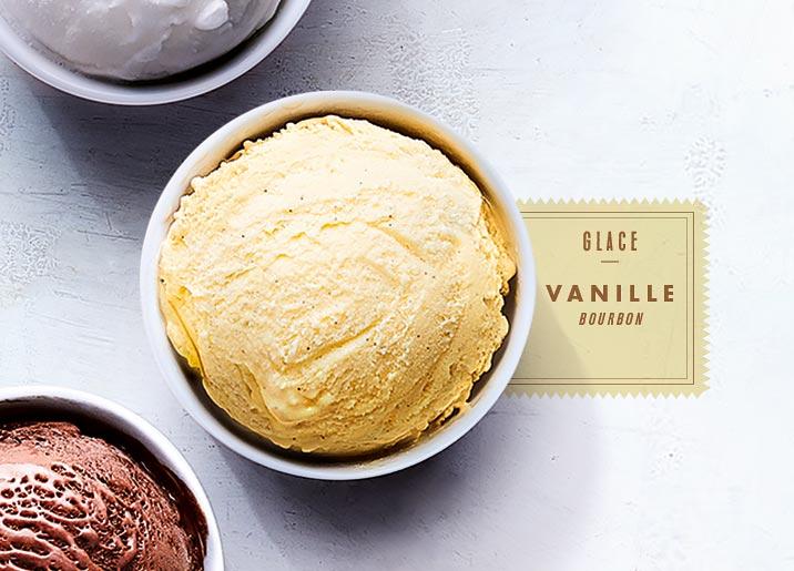 Glace vanille Bourbon
