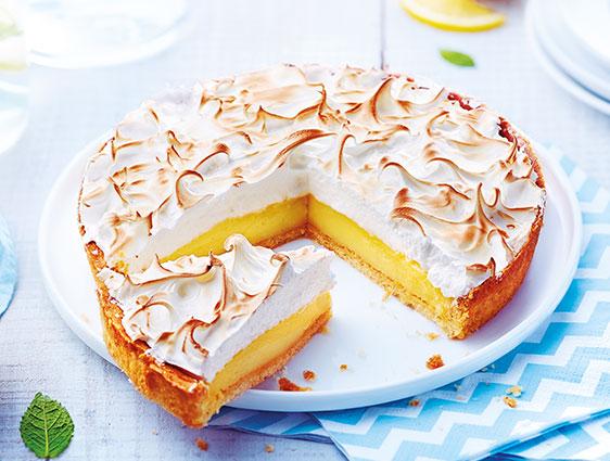 Pâtisseries - Tarte au citron meringuée