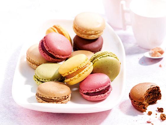 Mignardises en promotion - Macarons assortis