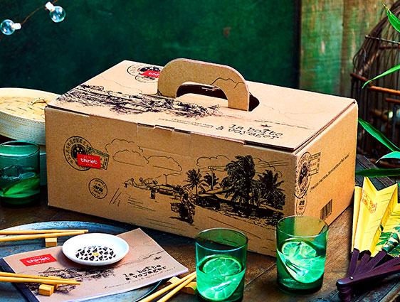 Box apéritif asiatique - La boîte à voyager™