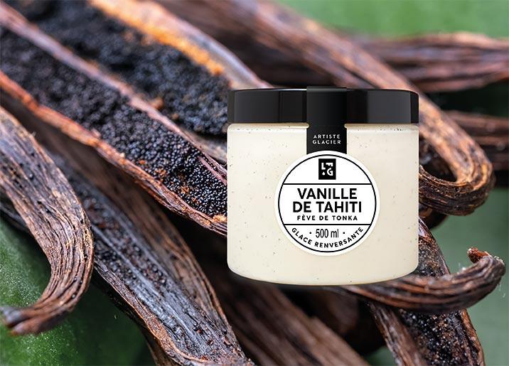 Crème glacée Vanille de Tahiti et fève de tonka