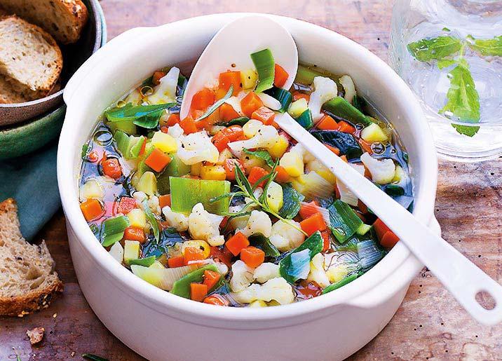 Légumes pour potage origine France