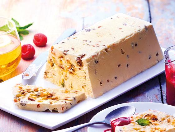 Desserts glacés - Nougat glacé en promotion