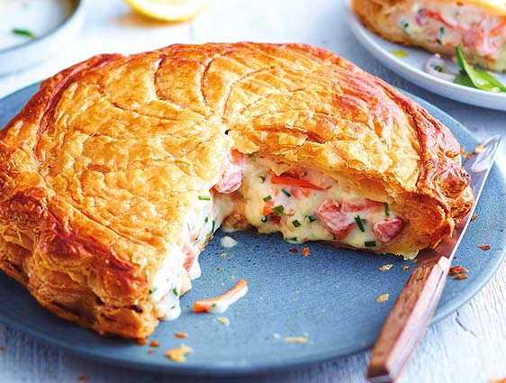 Tourtes saumon et petits légumes en promotion