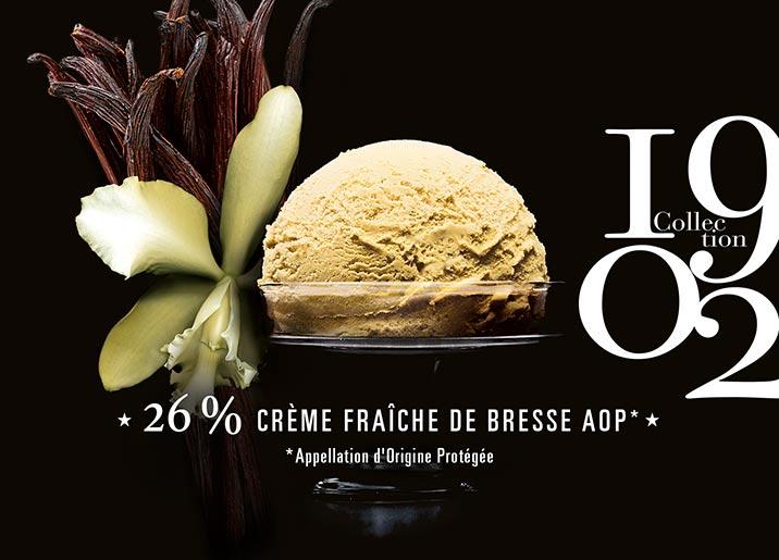 Crème glacée Vanille de Papouasie Collection 1902