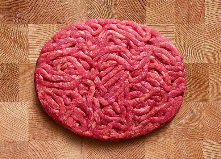 4 steaks hachés pur boeuf race Limousine façon bouchère 15 %