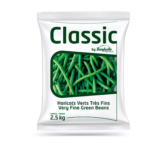 Haricots verts très fins