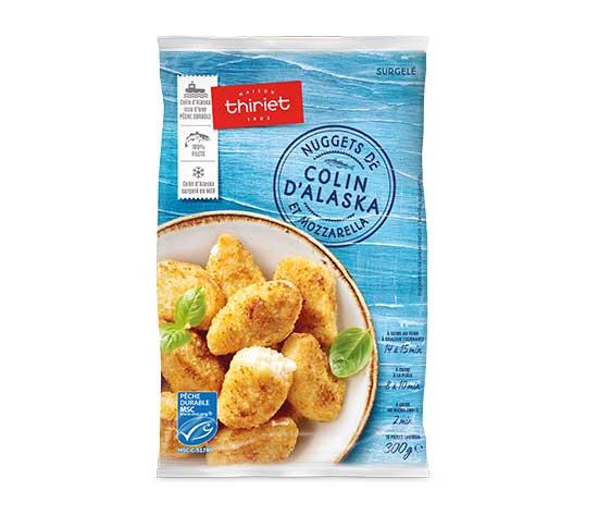 Nuggets de colin d'alaska et mozzarella : le 2ème à -60%