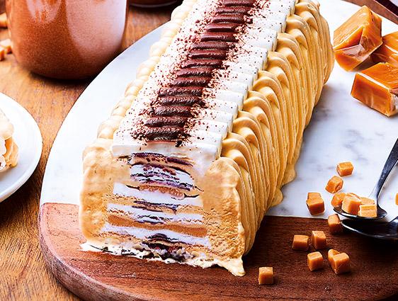 Desserts glacés à partager en promotion - Passionata™ vanille caramel