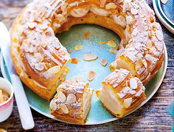 Desserts pâtissiers - Paris-Brest en promotion