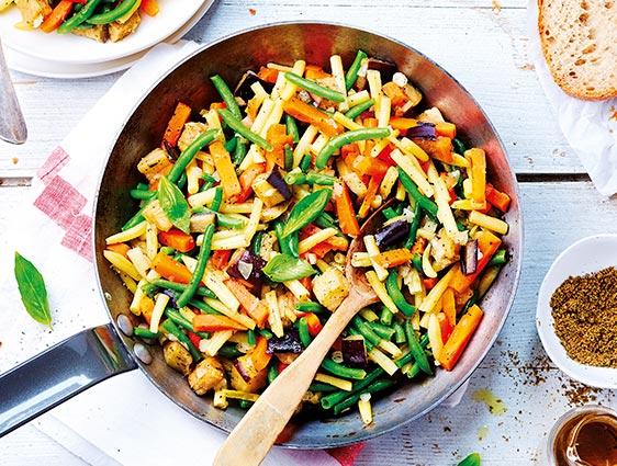 Légumes cuisinés  - Poêlée campagnarde en promotion
