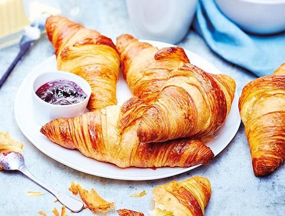 Viennoiseries - Croissants pur beurre en promotion
