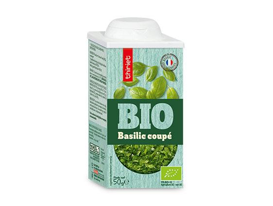 Assaisonnements - Basilic coupé biologique